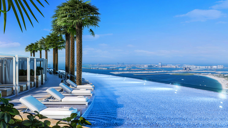 1/14  Address Beach Resort - Dubai