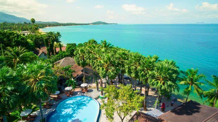1/10  Paradise Beach Resort - Koh Samui