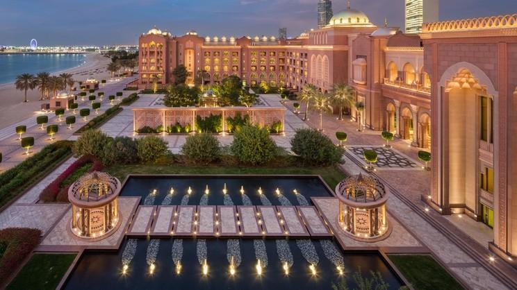 1/19  Emirates Palace - Abu Dhabi