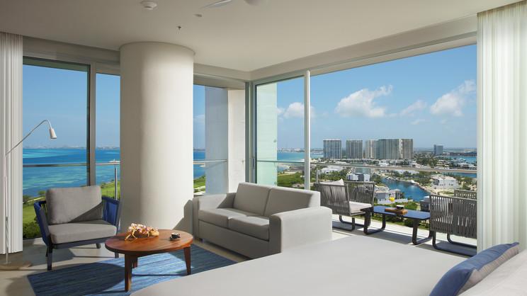 Preferred Club Corner Suite Ocean View