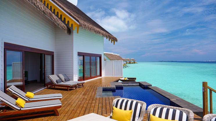 2 Bedroom Overwater Pool Villa