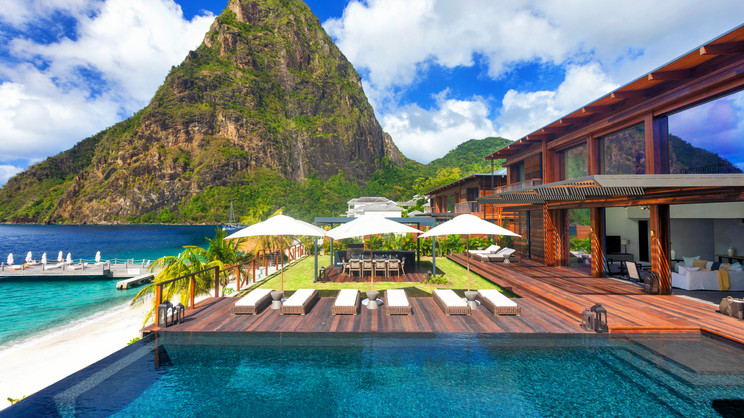 1/9  Sugar Beach A Viceroy Resort - St Lucia
