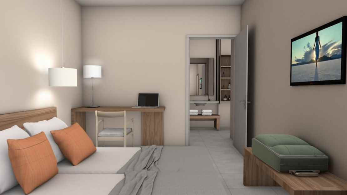 One Bedroom Suite Room