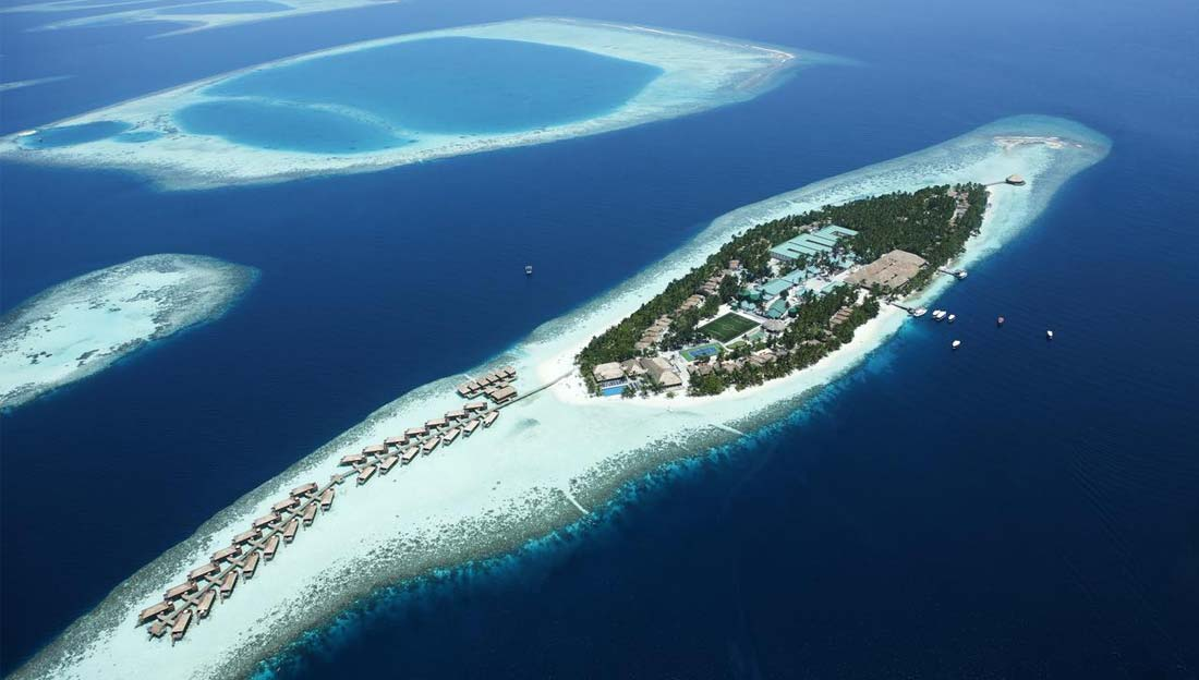 1/6  Vilamendhoo Island Resort and Spa - Maldives