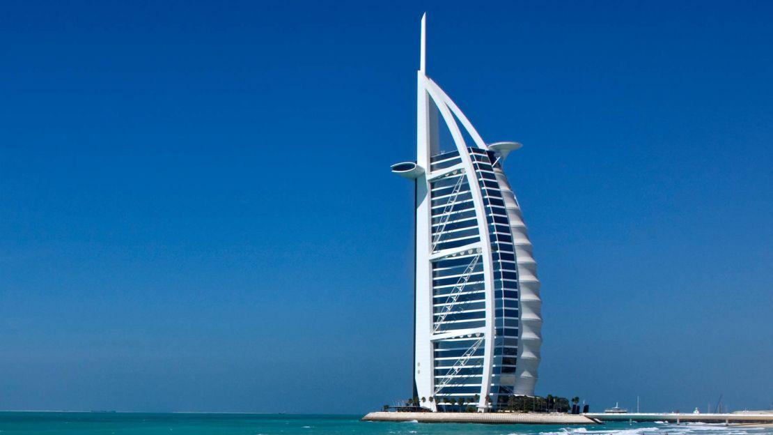 1/15  Burj Al Arab - Exterior View
