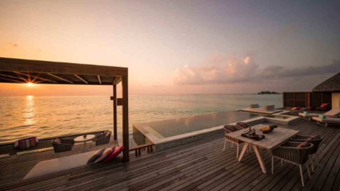 Sunrise or Sunset Two-Bedroom Water Suite
