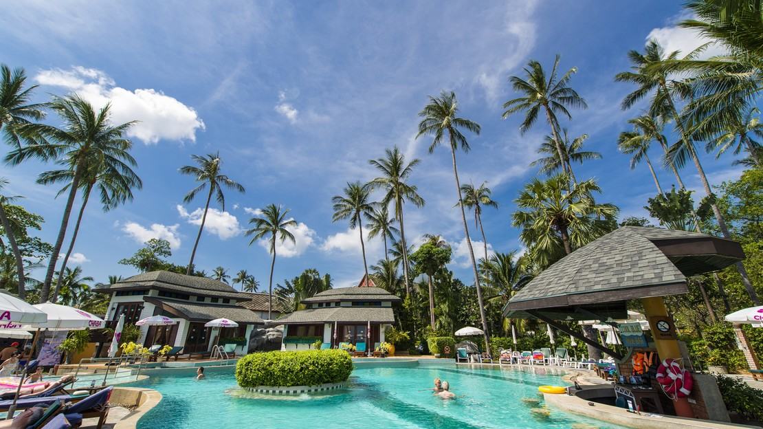 1/6  Chaba Cabana Beach Resort - Koh Samui