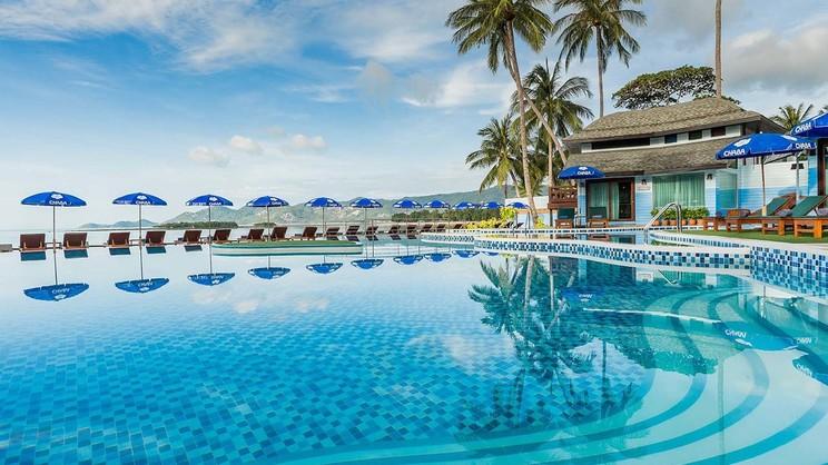 1/9  Chaba Cabana Beach Resort - Koh Samui