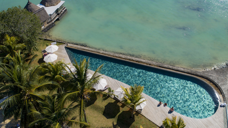 Aerial view, Vernada Paul & Virginie Resort, Mauritius