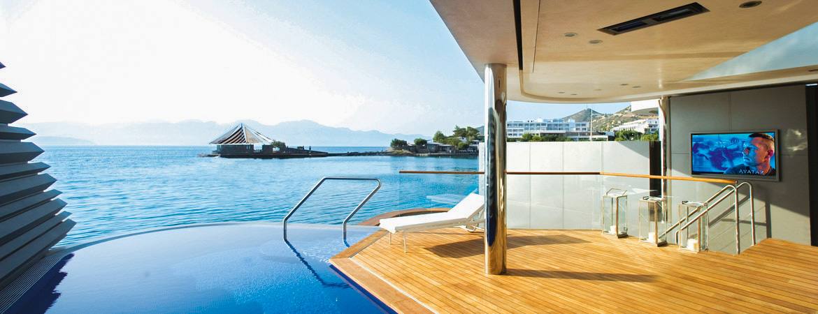 1/8  Elounda Beach Hotel and Villas - Crete, Greece