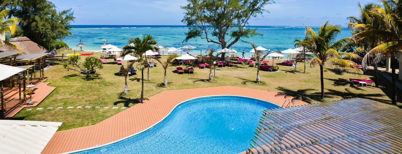 1/4  Silver Beach Hotel - Mauritius