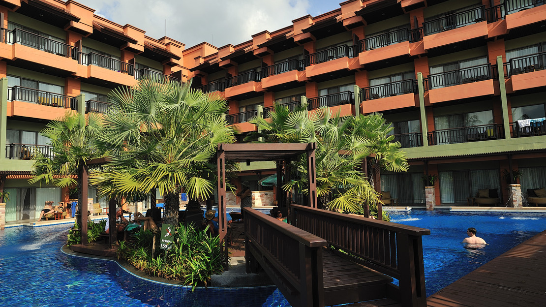 1/21  Patong Merlin Hotel - Thailand