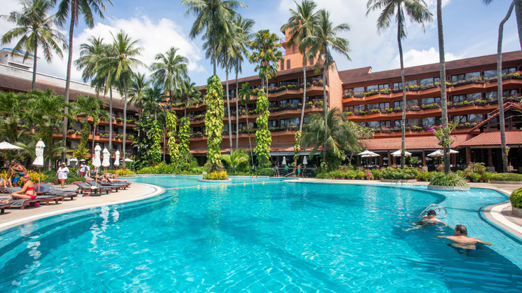 1/13  Patong Merlin Hotel - Thailand