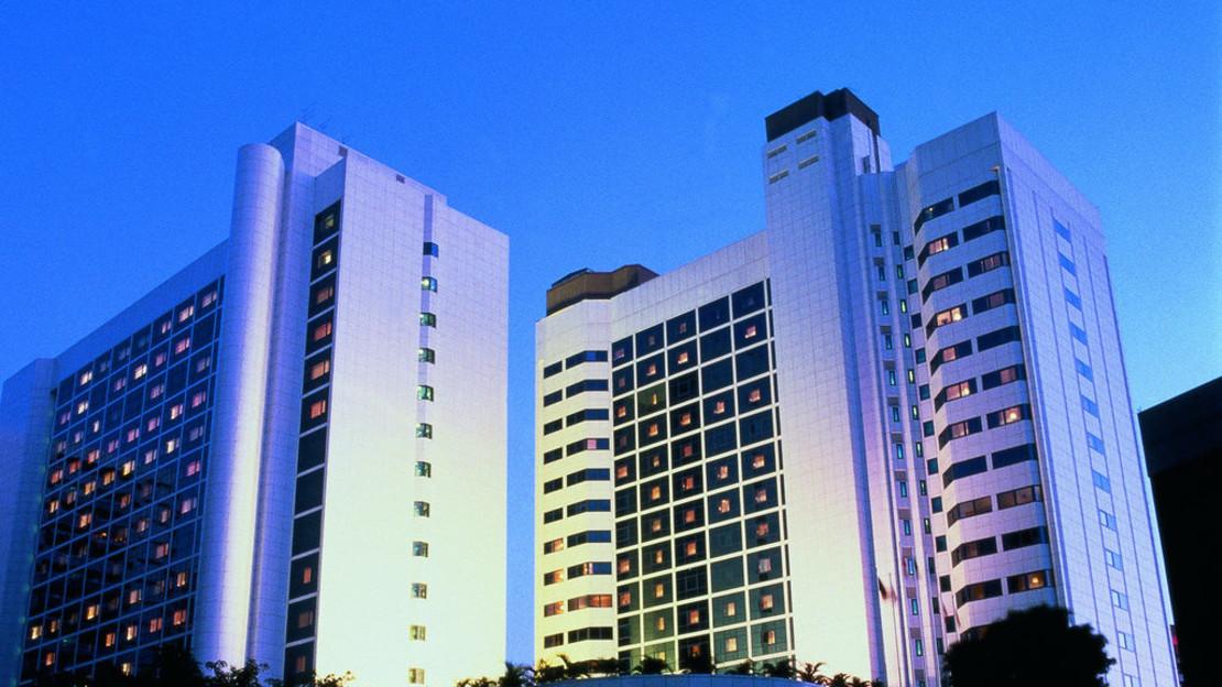 1/18  Orchard Hotel -  Singapore