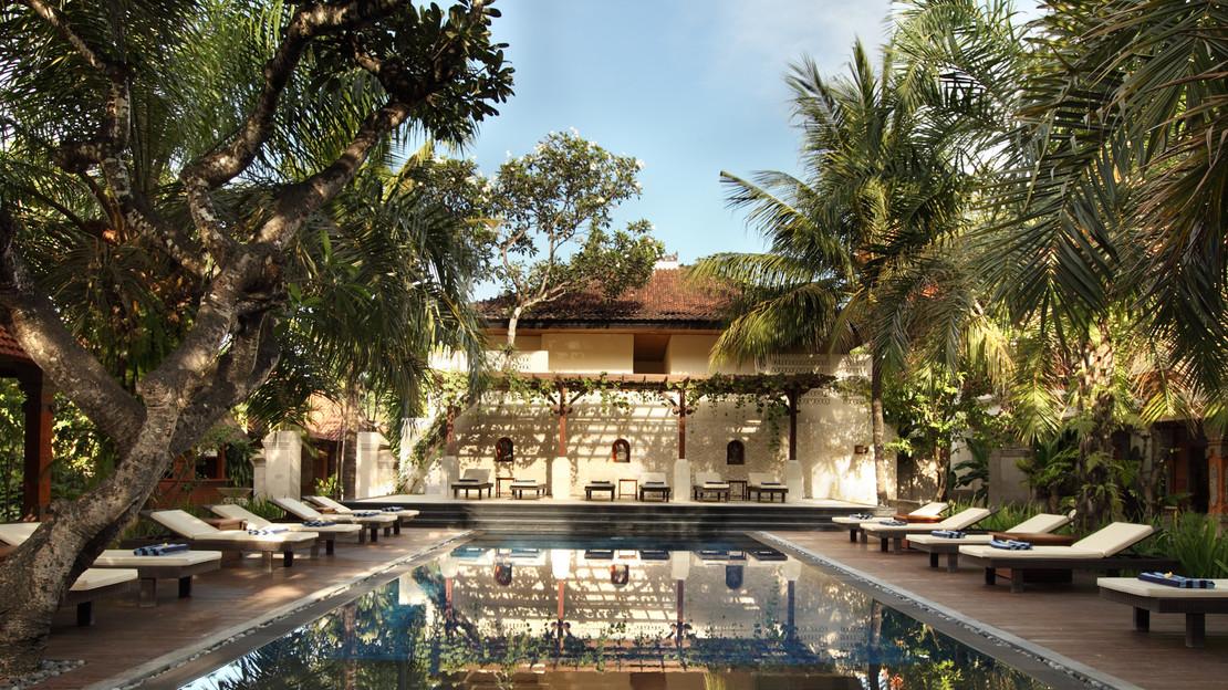 1/13  Griya Santrian Resort - Bali
