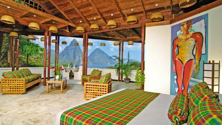 1/6  Anse Chastanet Resort - St Lucia