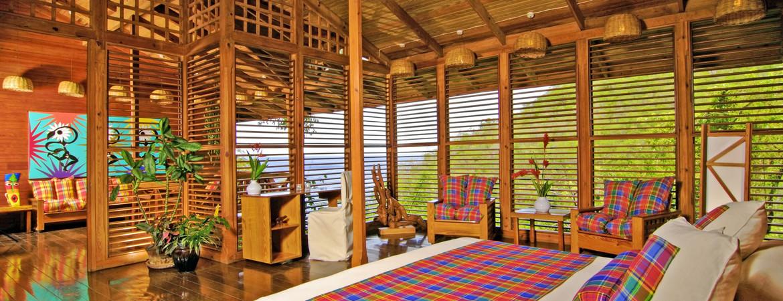 1/7  Anse Chastanet Resort - St Lucia