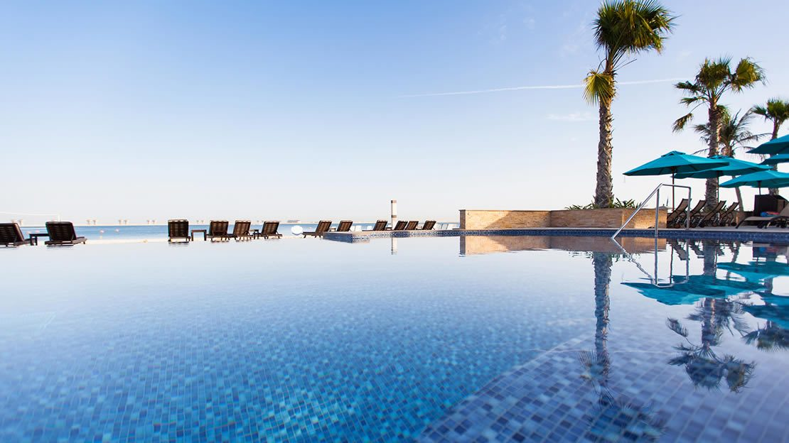 1/9  Swimming Pool - JA Jebel Ali Beach Hotel, Dubai