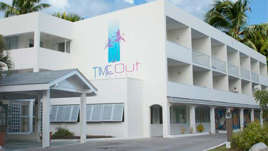 Time Out Hotel in St Lawrence Gap - Barbados