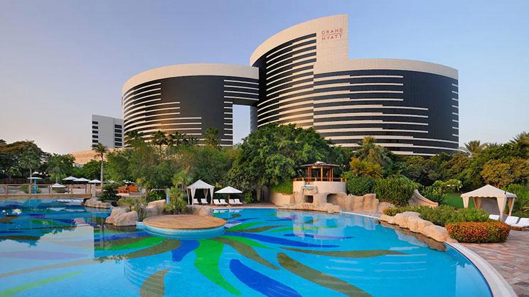 1/10  Grand Hyatt - Dubai