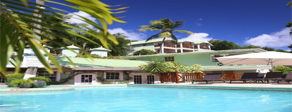 1/9  Marigot Beach Club and Dive Resort - St Lucia