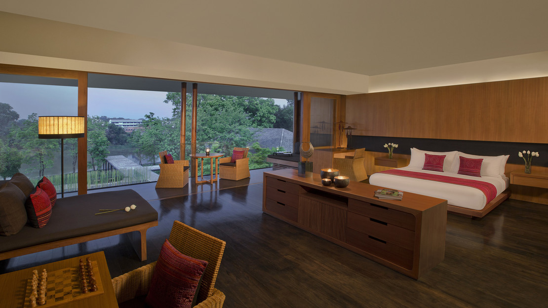 Kasara River View Room