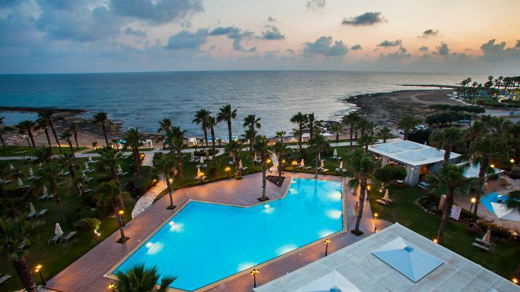 1/7  Aquamare Beach Hotel and Spa - Paphos