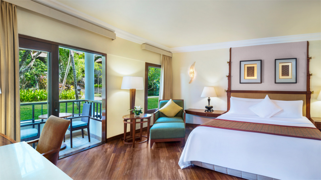 Deluxe Rooms (Deluxe Garden View, Deluxe Lagoon Views and Deluxe Lagoon Access)