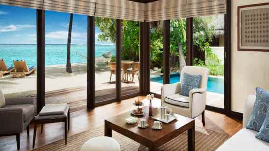One Bedroom Beach Suite with Pool