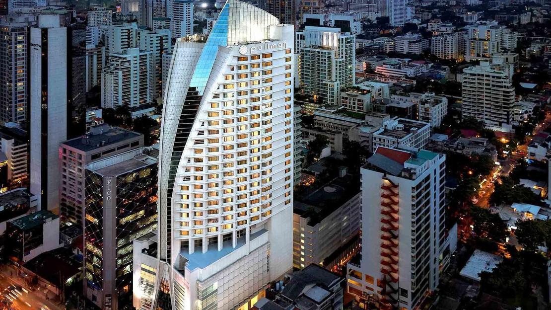 1/17  Pullman Bangkok Grande Sukhumvit Asoke Hotel - Thailand