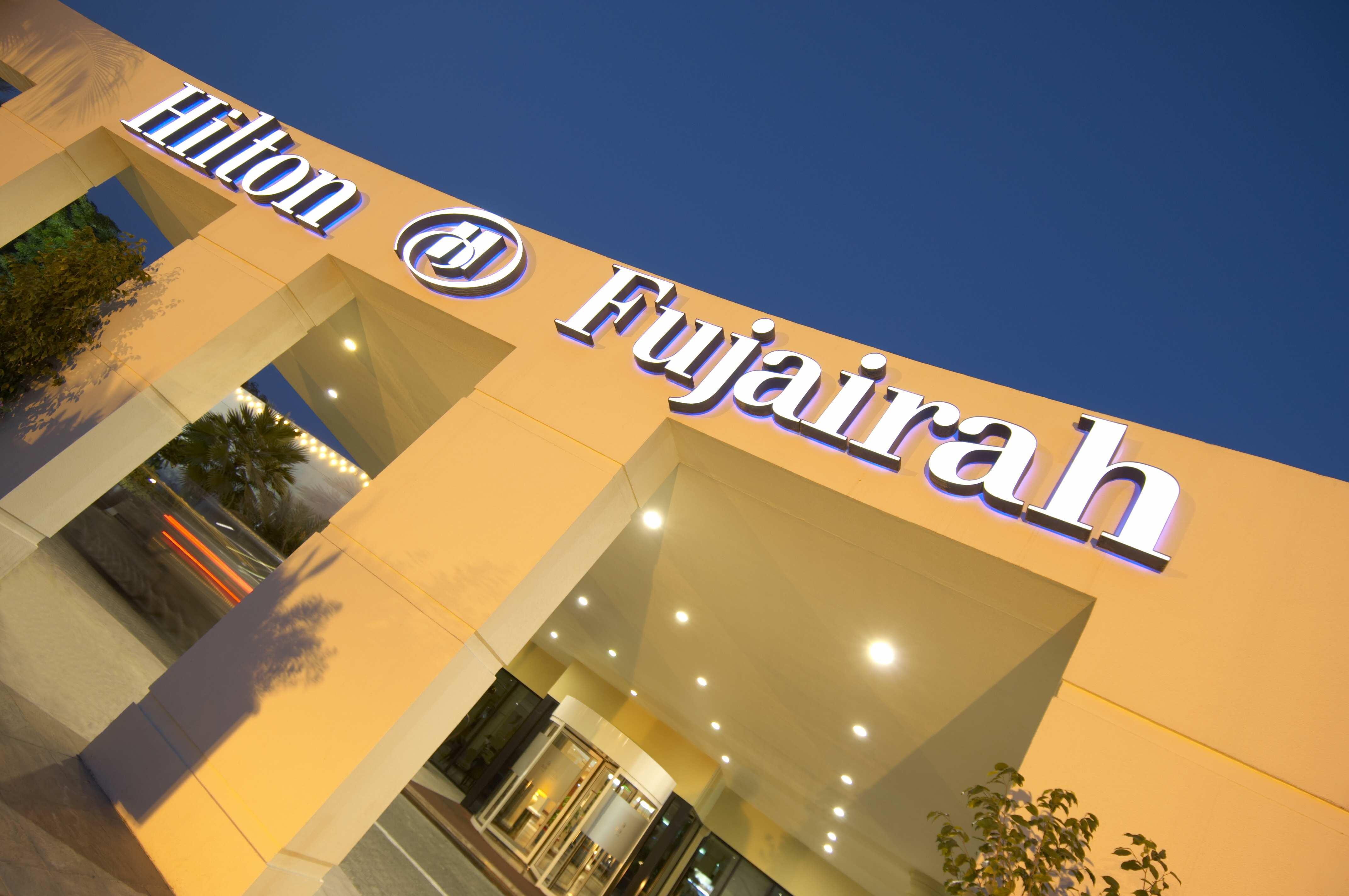 Hilton Fujairah Exterior