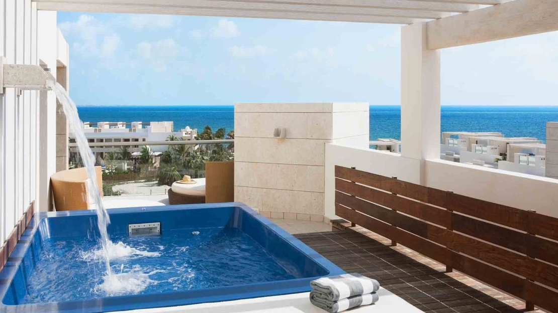 Terrace Suite with Plunge Pool and Garden View