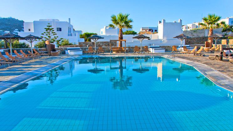 1/8  Yiannaki Hotel - Mykonos