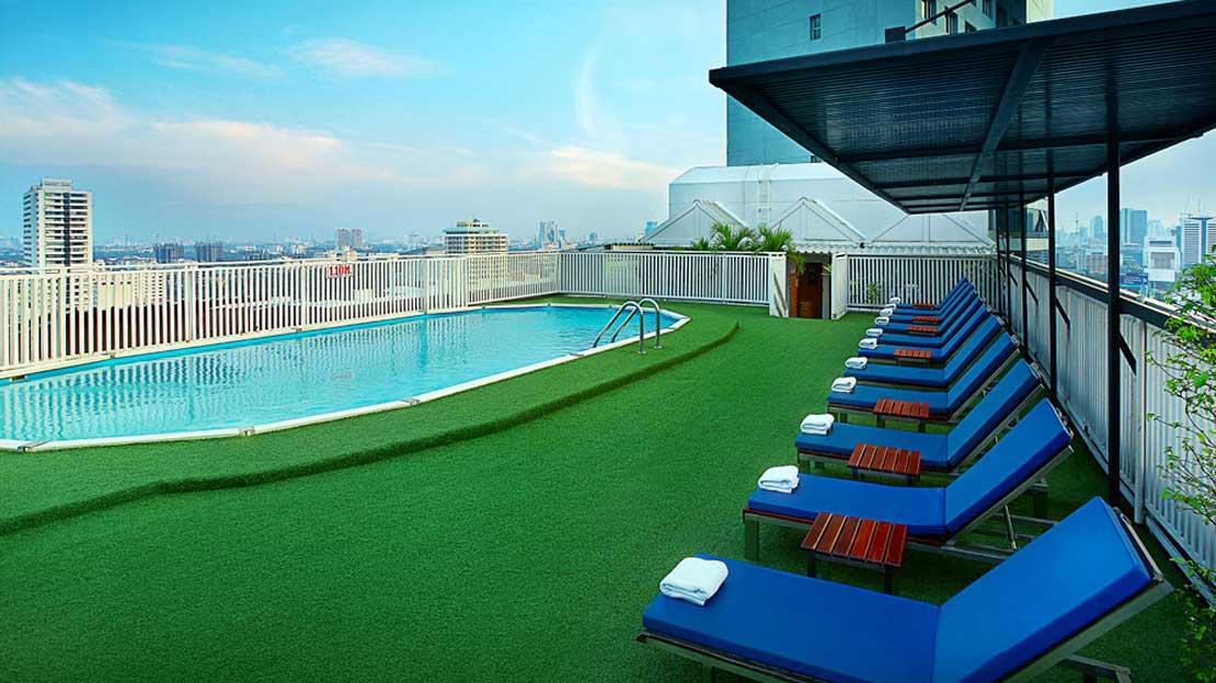 1/5  Bangkok Cha Da Hotel - Thailand