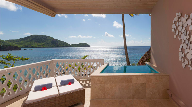 1/13  Curtain Bluff - Antigua