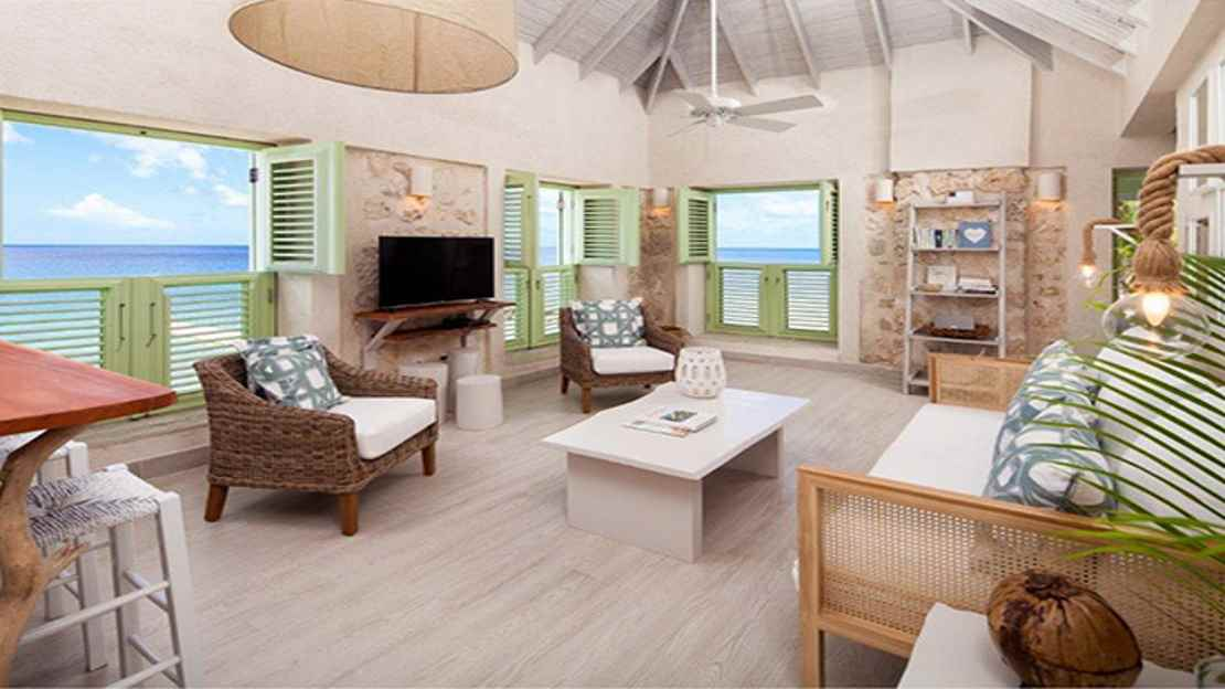 Two-Bedroom Oceanfront Fort Suite