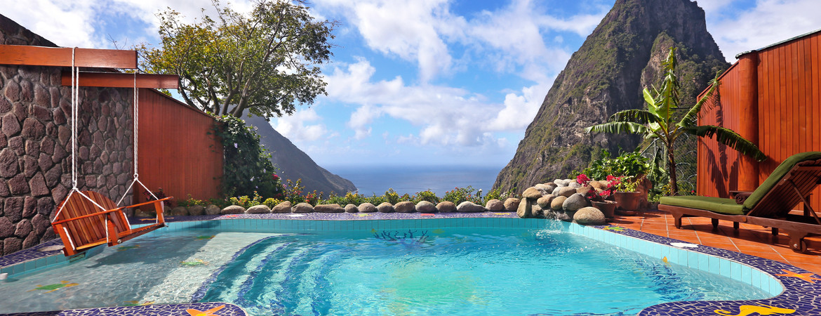 1/12  Ladera Resort - St Lucia