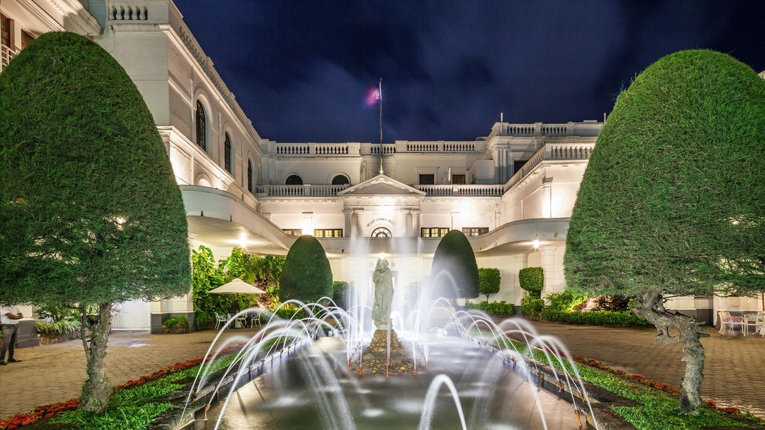 1/22  Mount Lavinia Hotel - Sri Lanka