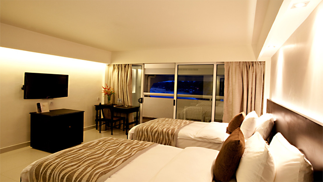 Ocean View Rooms