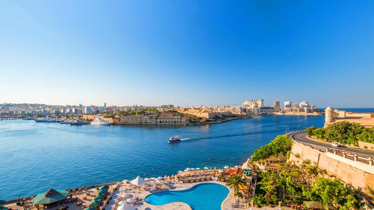 1/10  Grand Hotel Excelsior - Malta