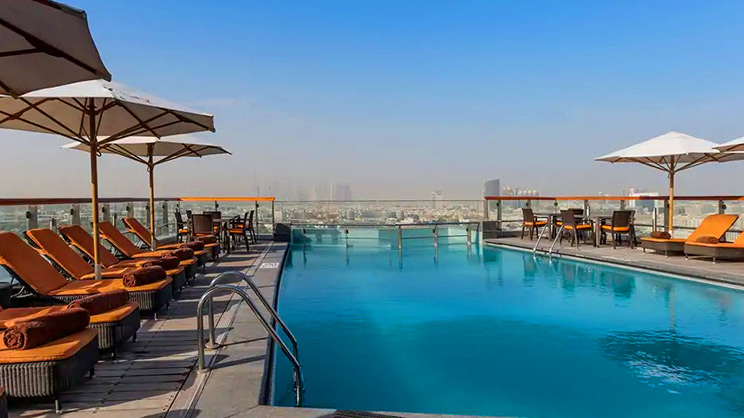 1/6  Hilton Dubai Creek Exterior