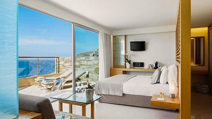 1/9  Lindos Blu Luxury Hotel and Suite - Rhodes