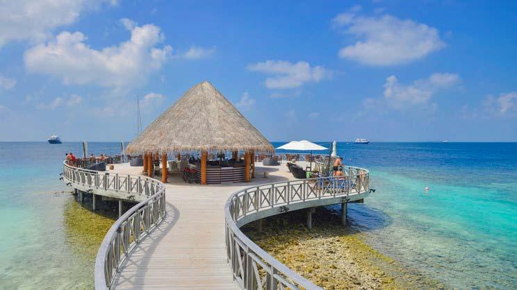 1/9  Bandos Maldives