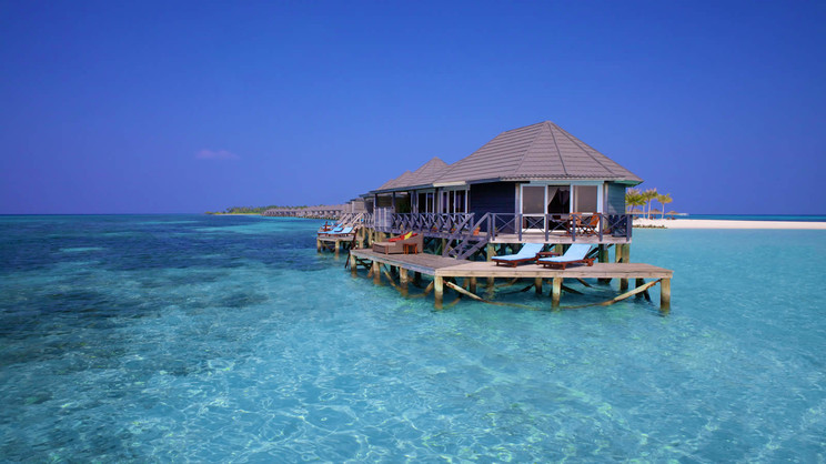 1/9  Kerudu Island Resort - Maldives