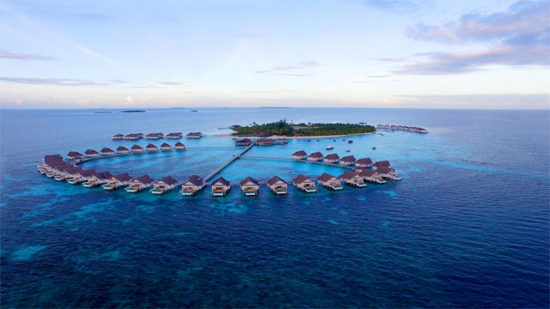 Centara Grand Island Resort & Spa, Water Villas