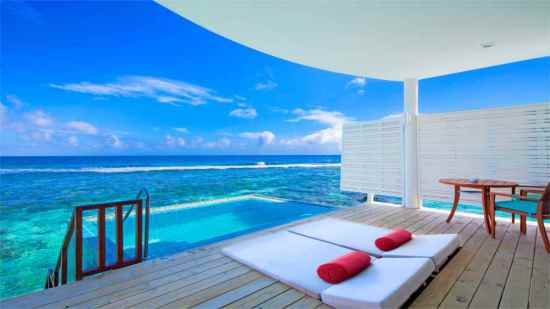 Sunset Ocean Pool Villa