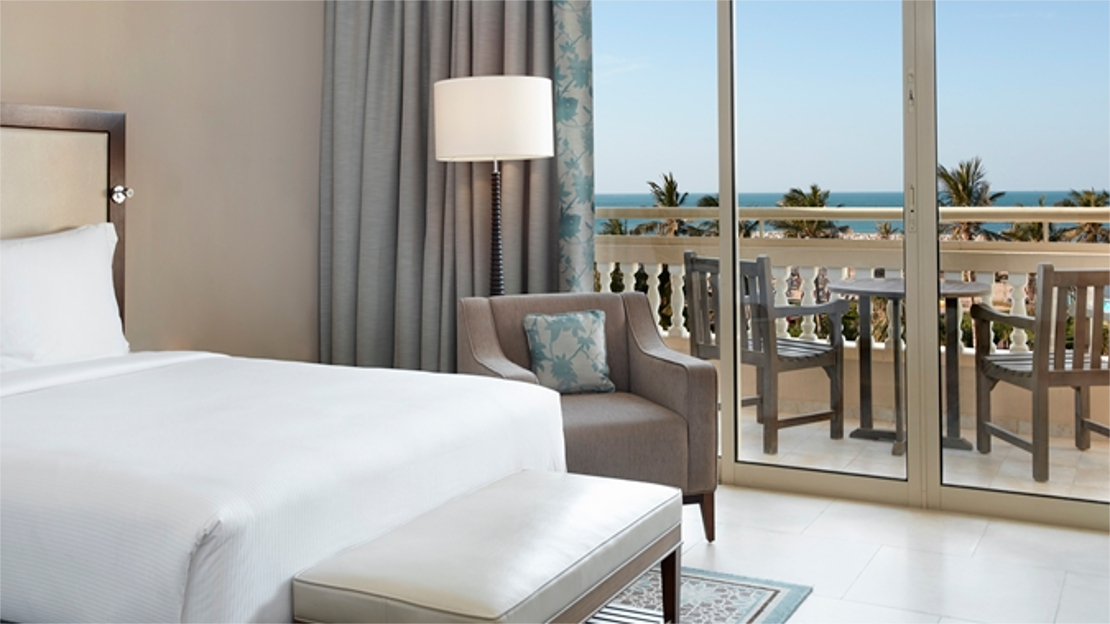Two Double Beds Superior Room / Sea View