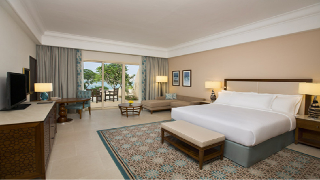 King Guest Room / Garden View / Sea Front
