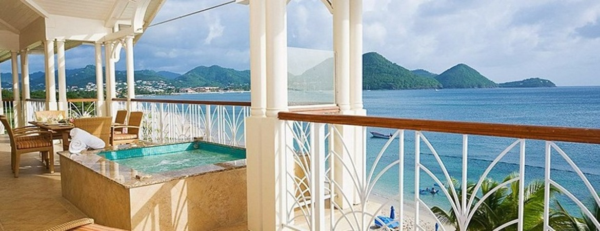 1/7  The Landings Resort and Spa - St Lucia