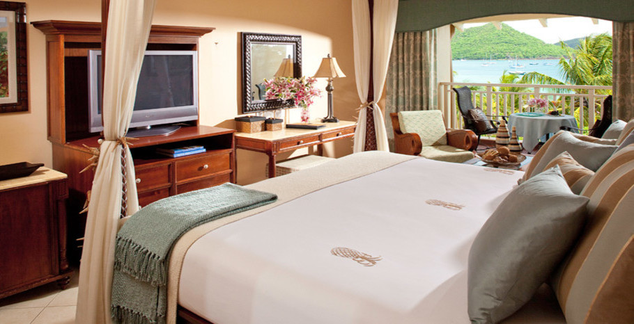 Caribbean Beach View Club Level Room